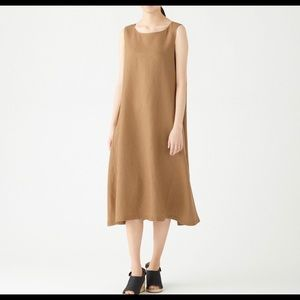 Muji Dresses - MUJI linen maxi dress